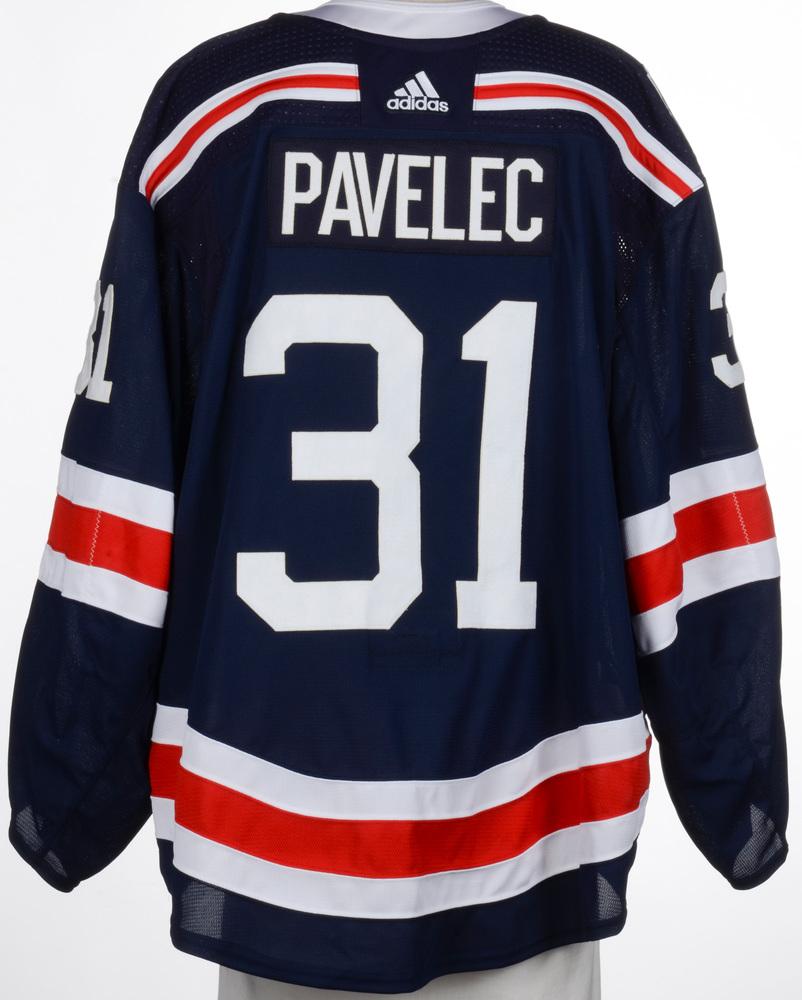 Ondrej Pavelec New York Rangers Game-Worn 2018 NHL Winter Classic Jersey