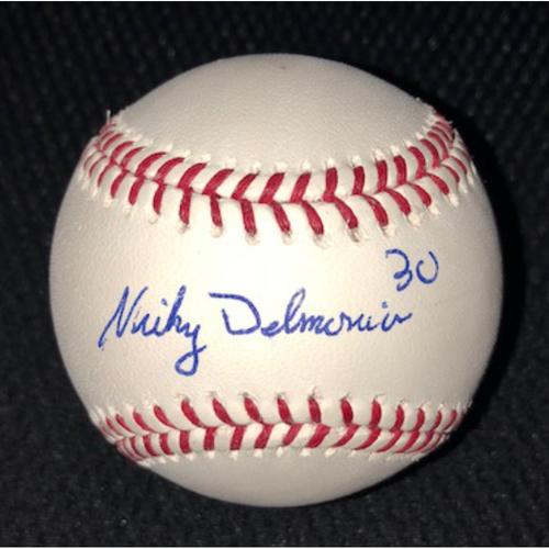 Photo of Position Players: Nicky Delmonico Autographed Baseball