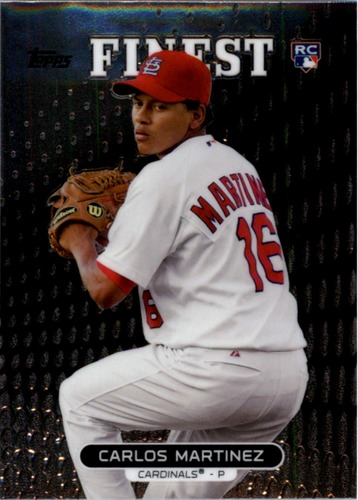 Photo of 2013 Finest #89 Carlos Martinez  Rookie Card