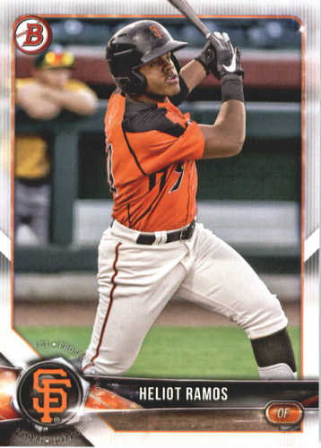 Photo of 2018 Bowman Prospects #BP143 Heliot Ramos