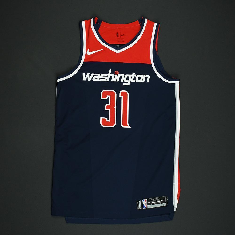 Tomas Satoransky - Washington Wizards - 2018 NBA Playoffs Game-Worn 'Statement' Jersey