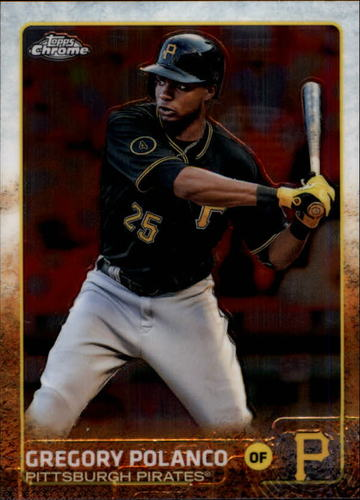 Photo of 2015 Topps Chrome #126 Gregory Polanco