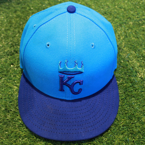 Photo of Game-Used Players' Weekend Cap: Lucas Duda (Size - 7 1/2 - CLE @ KC - 8/26/18)