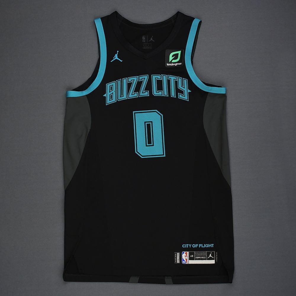 Miles Bridges - Charlotte Hornets - Game-Worn City Edition Jersey ...