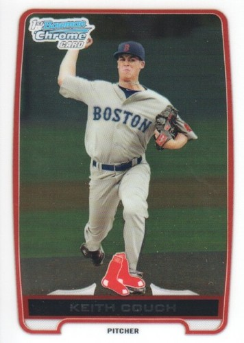 Photo of 2012 Bowman Chrome Prospects #BCP29 Keith Couch