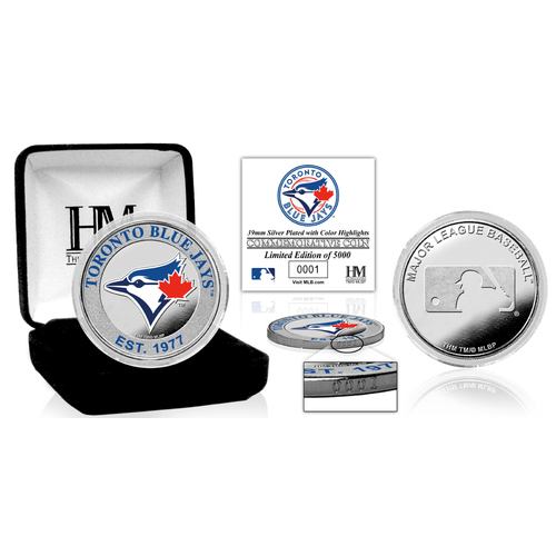 Photo of Serial #1! Toronto Blue Jays Silver Color Coin