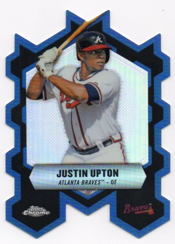 Photo of 2013 Topps Chrome Chrome Connections Die Cuts #CCJU Justin Upton