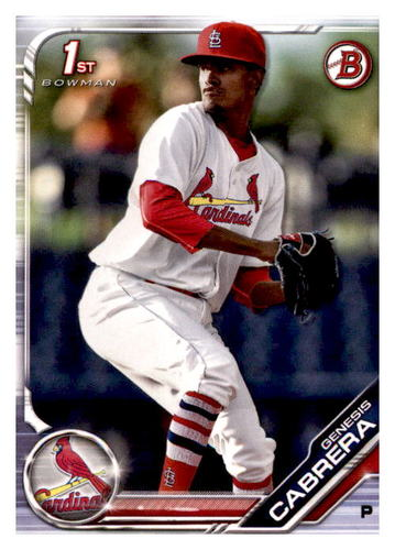 Photo of 2019 Bowman Prospects #BP142 Genesis Cabrera