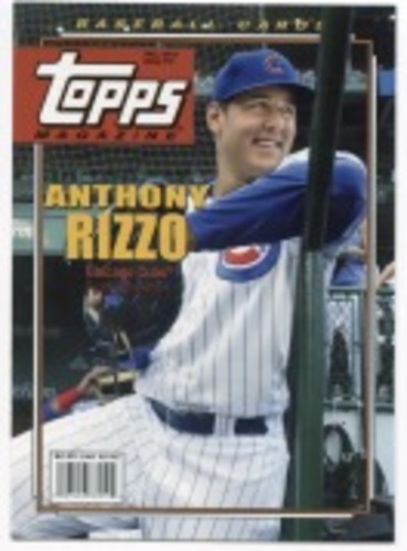 Photo of 2019 Topps Archives Topps Magazine #TM12 Anthony Rizzo