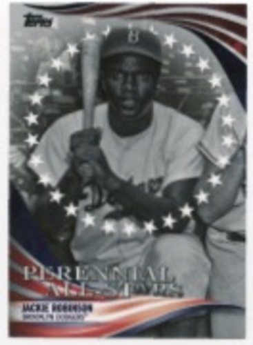 Photo of 2019 Topps Update Perennial All Stars #PAS3 Jackie Robinson