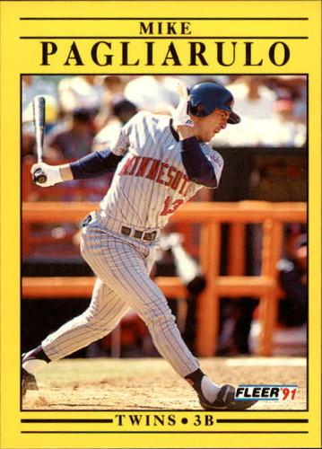 Photo of 1991 Fleer Update #40 Mike Pagliarulo