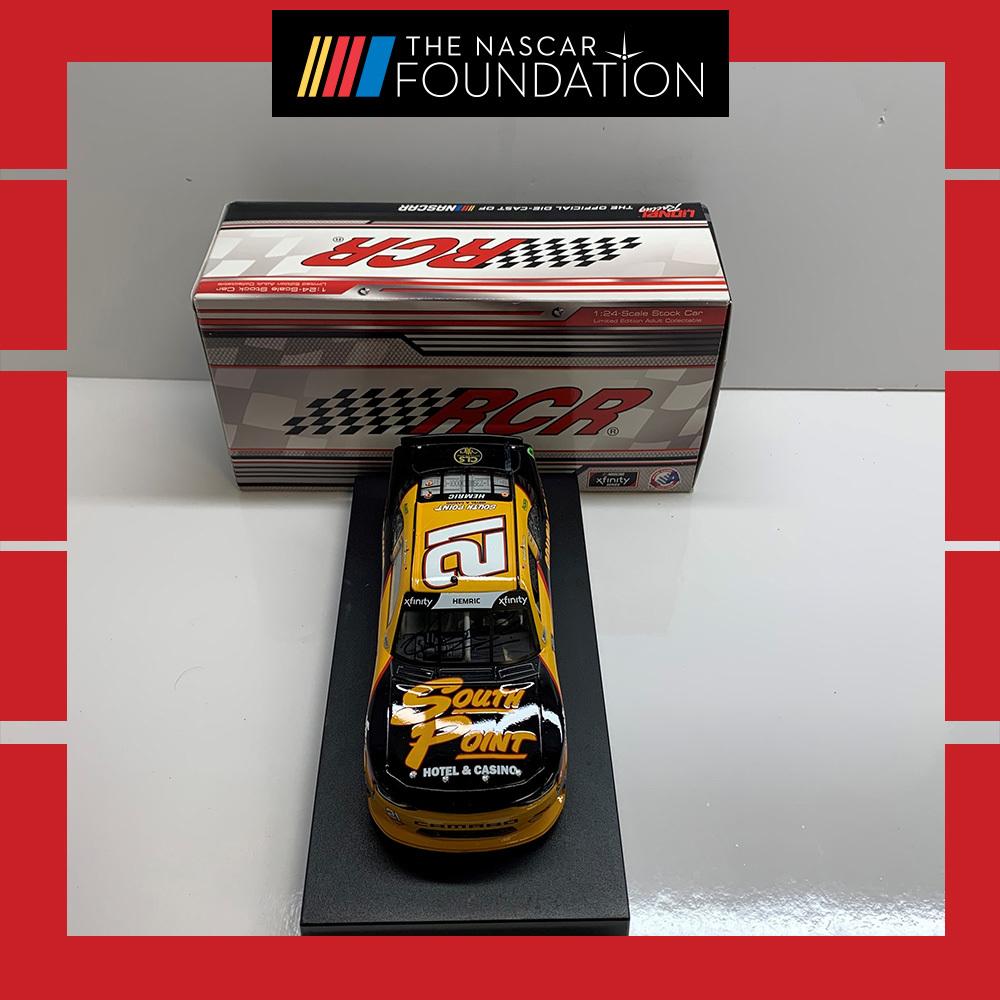 NASCAR's Daniel Hemric Autographed Diecast!
