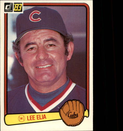 Photo of 1983 Donruss #614 Lee Elia MG