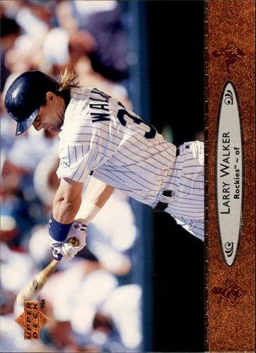 Photo of 1996 Upper Deck #60 Larry Walker