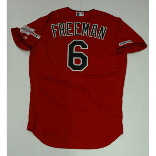 Photo of Mike Freeman Team Issued 2019 Red Home Alternate Jersey