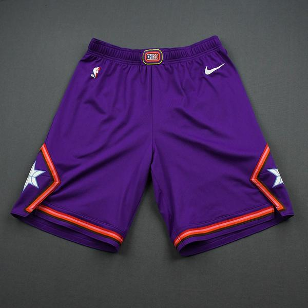 Image of Deandre Ayton - 2020 NBA Rising Stars - Team World - Game-Issued 1st Half Shorts