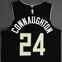 Pat Connaughton - Milwaukee Bucks - 2020 NBA Paris Games - Game-Worn Statement Edition Jersey