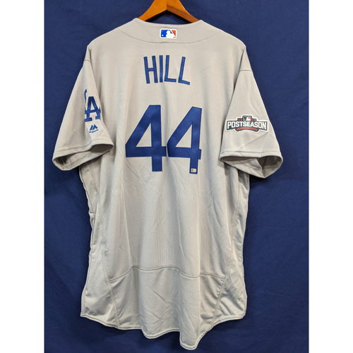 Photo of Rich Hill Team-Issued 2016 Road Postseason Jersey