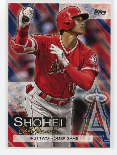 Photo of 2019 Topps Update Shohei Ohtani Highlights #SO11 Shohei Ohtani