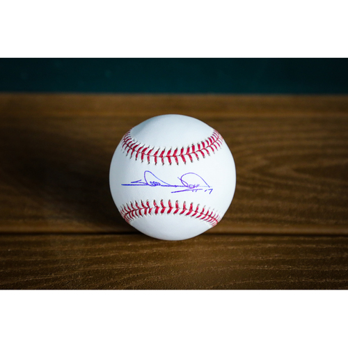 Photo of Shin-Soo Choo Autographed Baseball