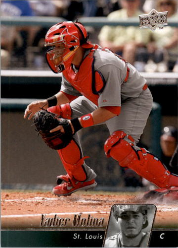 Photo of 2010 Upper Deck #466A Yadier Molina