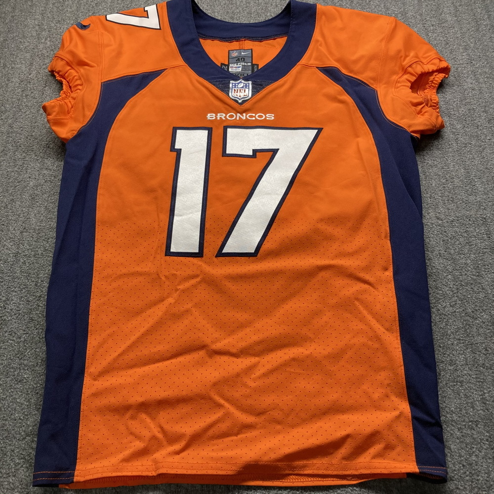 STS - Broncos DaeSean Hamilton Game Used Jersey (11/22/20) Size 40