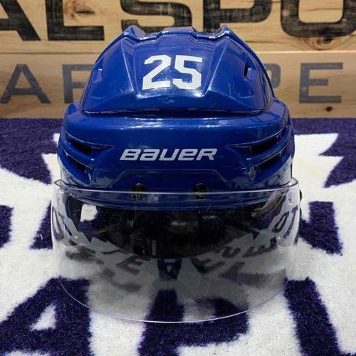 #25 James van Riemsdyk Game Worn Helmet (Home)