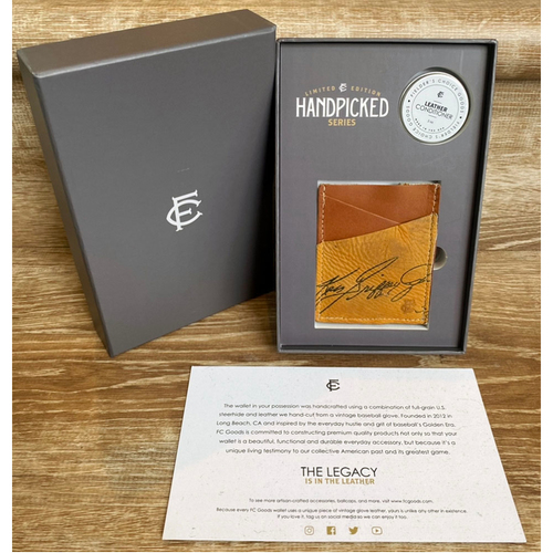Photo of UMPS CARE AUCTION: Fielder's Choice Goods Handpicked Collection Series Wallet - Ken Griffey, Jr.