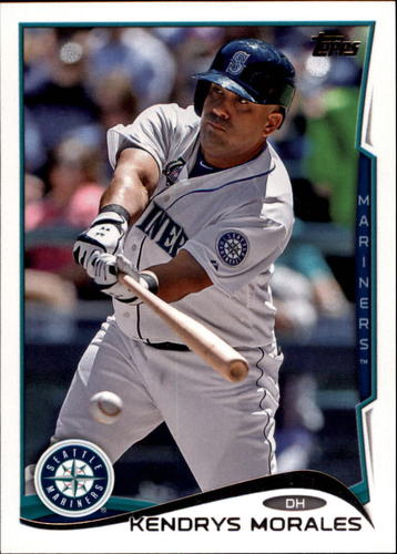 Photo of 2014 Topps Update #US22A Kendrys Morales