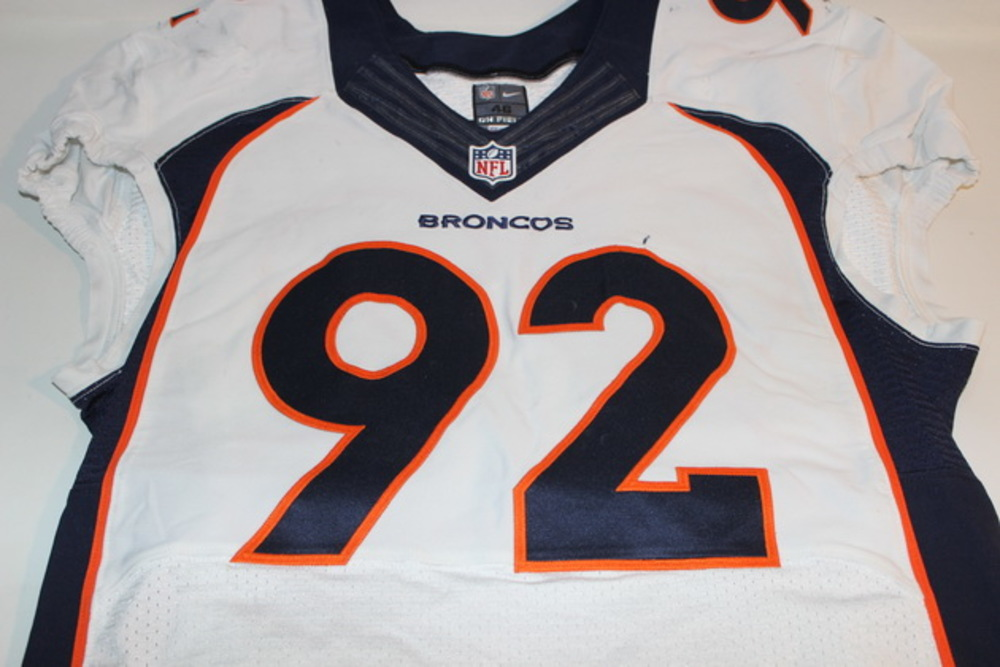 new concept 66f3d e3df6 NFL Auction | STS - BRONCOS SYLVESTER WILLIAMS GAME WORN ...