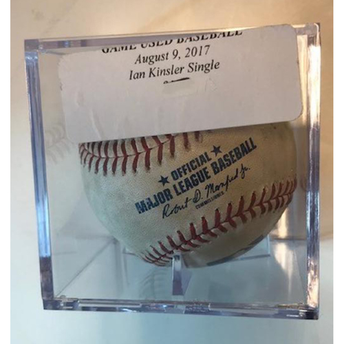 Photo of Game-Used Baseball: Ian Kinsler Single