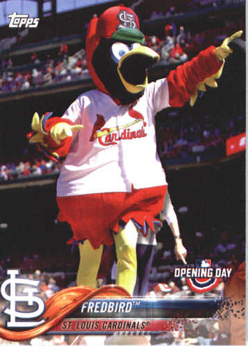 Photo of 2018 Topps Opening Day Mascots #M22 Fredbird