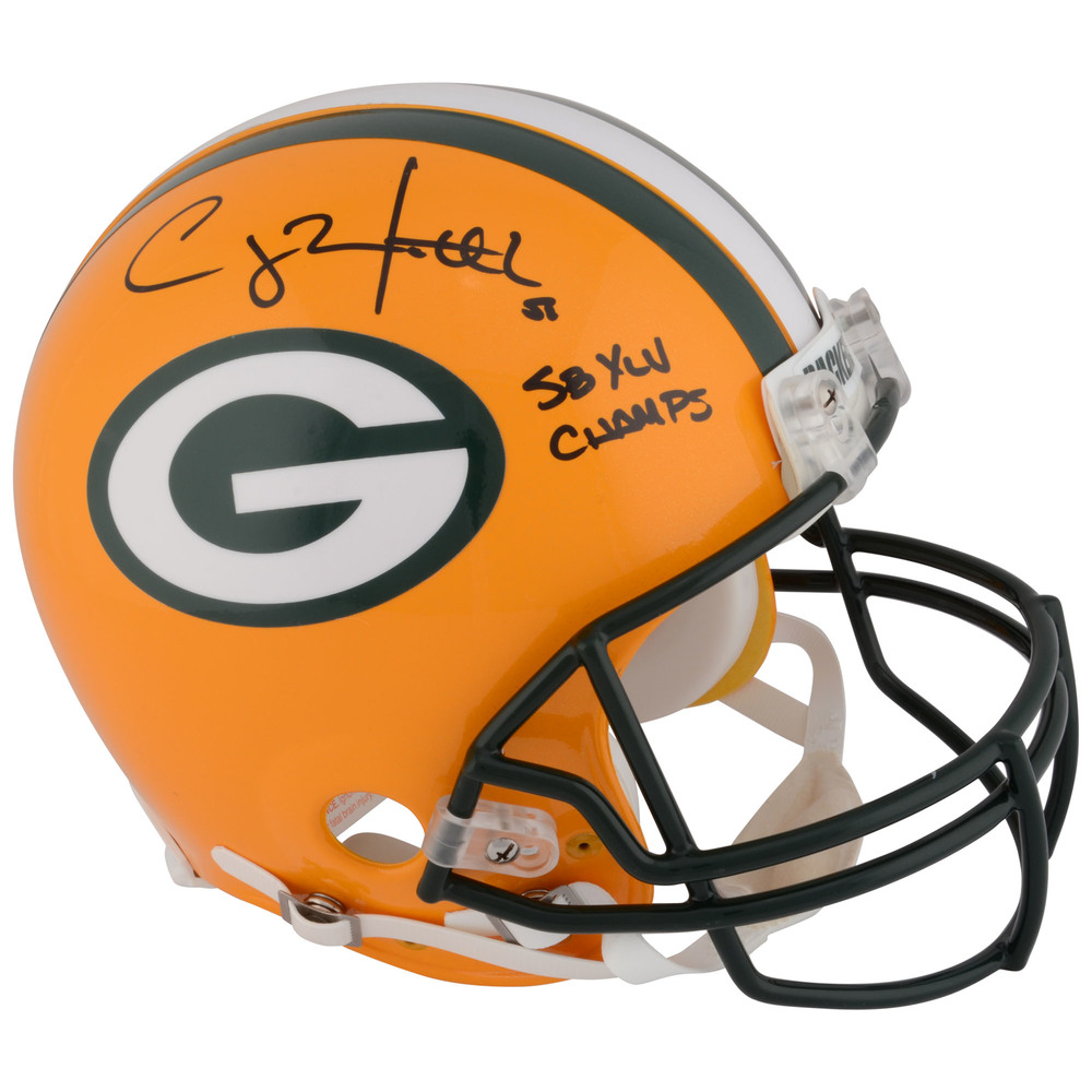 Clay Matthews Green Bay Packers Autographed Riddell Pro-Line Helmet with