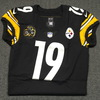 Crucial Catch - Steelers JuJu Smith-Schuster game issued Steelers jersey (2017) Size 42