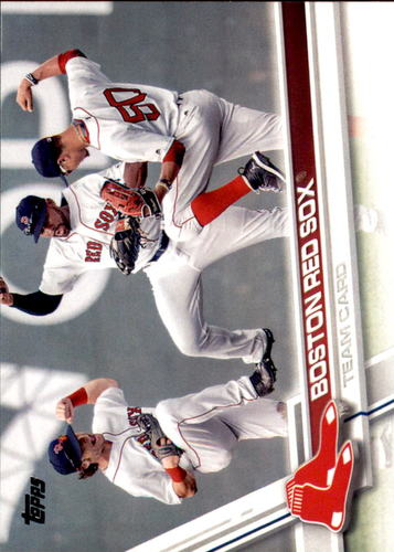 Photo of 2017 Topps #497 Boston Red Sox