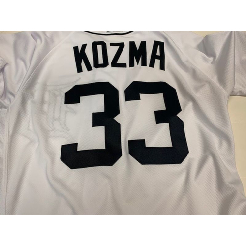 Photo of Team Issued Alan Trammell Retirement Day Jersey: Pete Kozma