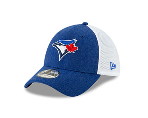 Toronto Blue Jays Child/Youth Heather Front Flex Cap by New Era