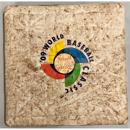 Photo of 2009 World Baseball Classic Game Used Base- 1st Base (United States vs. Venezuela)