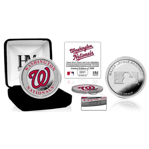 Photo of Serial #1! Washington Nationals Silver Color Coin