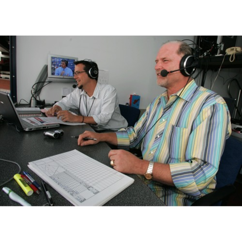 Photo of Live Broadcast an Inning on the Radio with The Phillies Radio Broadcasters