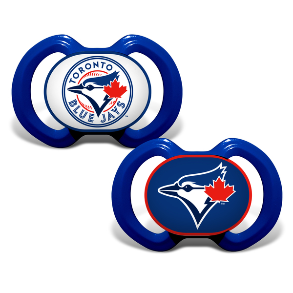 Toronto Blue Jays Two Pack Pacifiers by Baby Fanatic