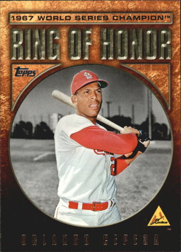 Photo of 2008 Topps Update Ring of Honor World Series Champions #OC Orlando Cepeda
