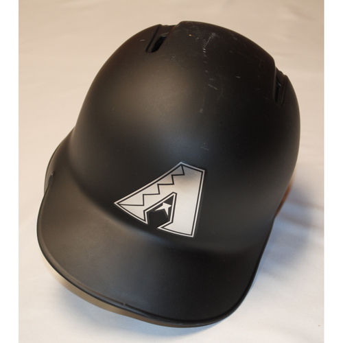 "Photo of David ""FREIGHT TRAIN"" Peralta Arizona Diamondbacks Game-Used 2019 Players' Weekend Helmet"