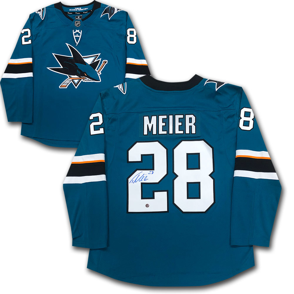 Timo Meier Autographed San Jose Sharks Fanatics Jersey