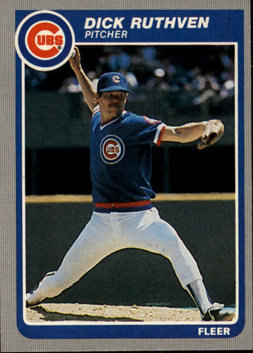 Photo of 1985 Fleer #64 Dick Ruthven