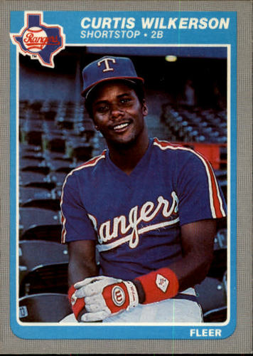 Photo of 1985 Fleer #573 Curtis Wilkerson