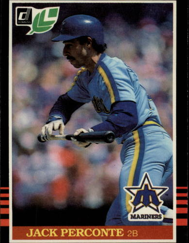 Photo of 1985 Leaf/Donruss #221 Jack Perconte