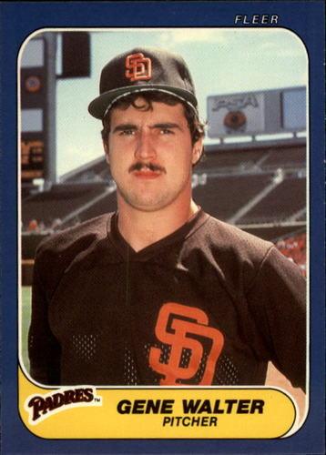 Photo of 1986 Fleer Update #124 Gene Walter