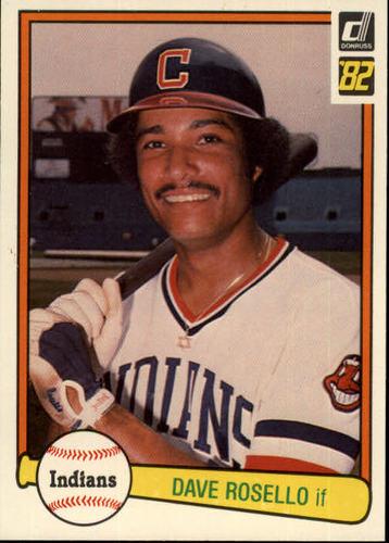 Photo of 1982 Donruss #617 Dave Rosello