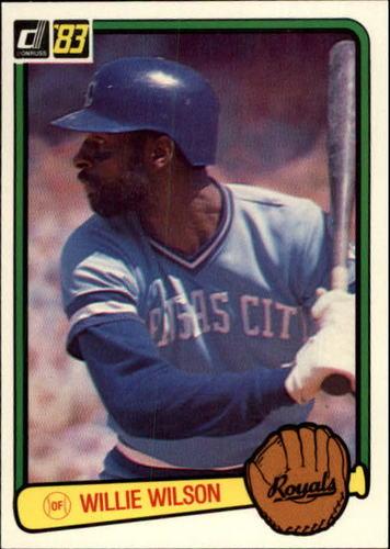 Photo of 1983 Donruss #112 Willie Wilson